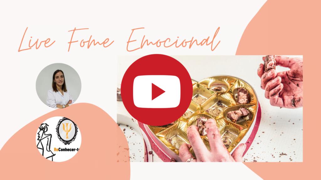 Ana sousa nutricionista video live fome emocional