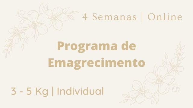Programa de Emagrecimento de 1 Mês - Ana Sousa Nutricionista