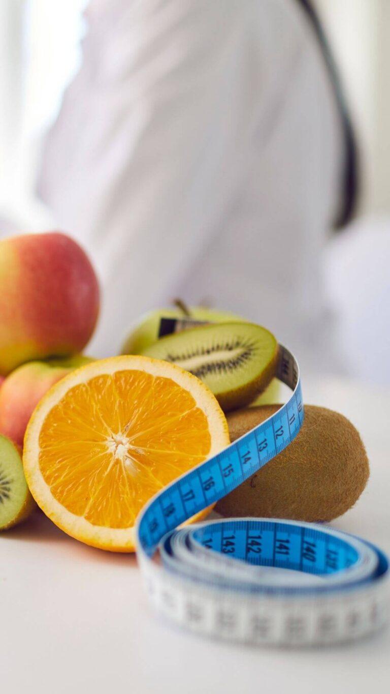 Consultas de nutrição na clinica