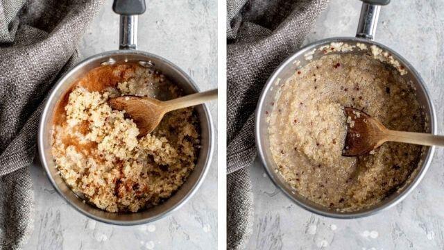 cozedura da quinoa