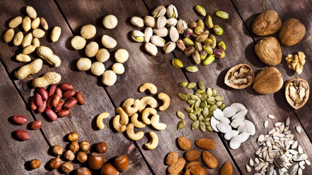 beneficios dos frutos secos para o colesterol